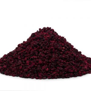 Dehydrated cranberries